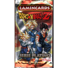 Dragon Ball Z - Serie Platino Lamincards Sigillata 1 Bustina 5 Figurine