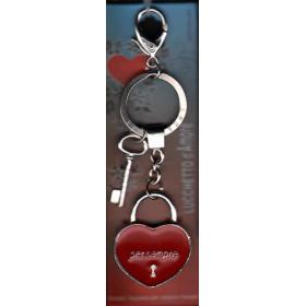 Lucchetto D'Amore Per Sempre - Portachiavi - Regalandia Nuovo 8034028582646