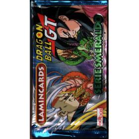 Dragon Ball GT - Serie Smeraldo Lamincards Sigillata 1 Bustina 5 Figurine
