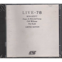 AC/DC CD Live 78 - Bootleg Limited Edition Men At Work Sigillato