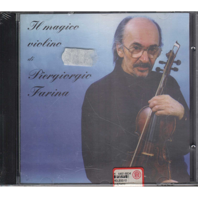 Piergiorgio Farina CD Il Magico Violino / RTI Sigillato 8012842611322