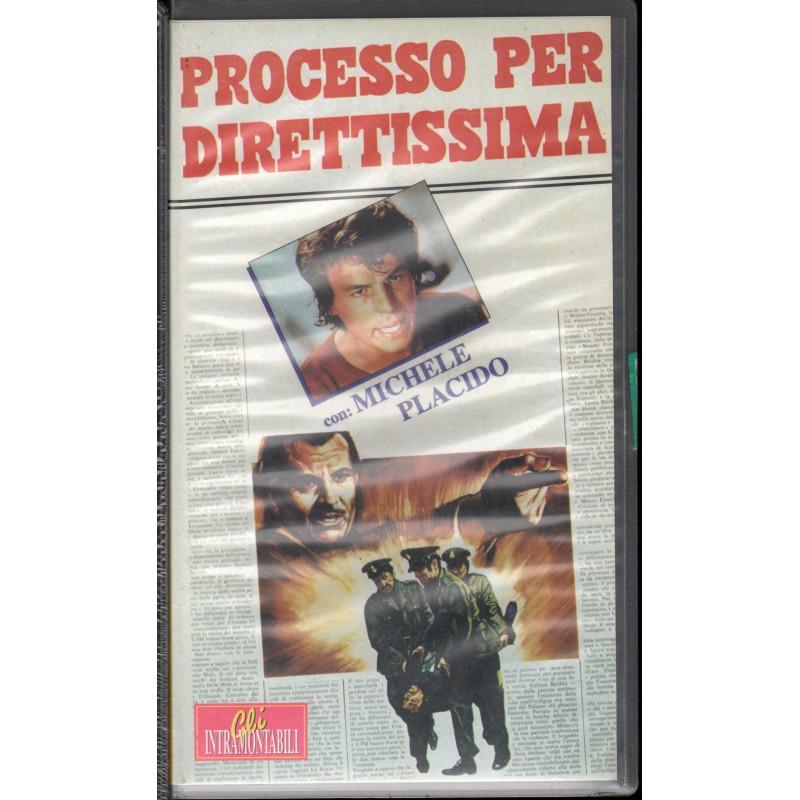 Processo Per Direttissima VHS Michele Placido / Lucio De Caro Sigillata