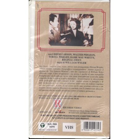 La Signora Miniver VHS Greer Garson / Walter Pidgeon / Teresa Wright Sigillata
