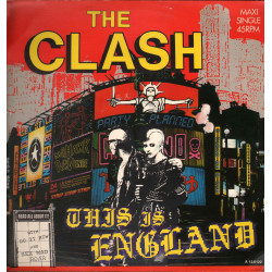 "The Clash ‎Vinile 12"" 45 RMP Maxi Single This Is England / CBS ‎A 12.6122 Nuovo"