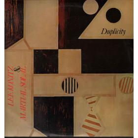 Lee Konitz & Martial Solal 2 Lp Vinile Duplicity Sigillato HORO