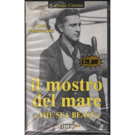 IL Mostro Del Mare - The Sea Beast VHS John Barrymore Sigillata 8009068041286