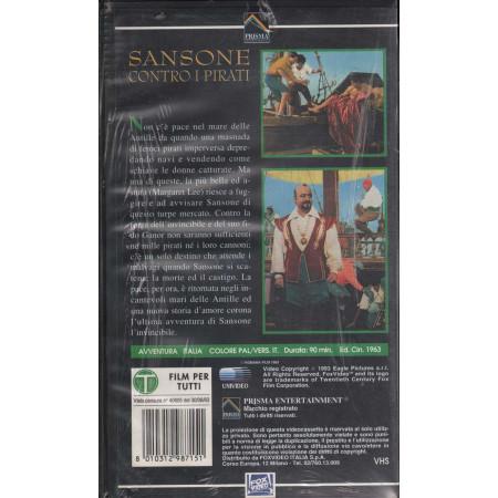 Sansone Contro I Pirati VHS Kirk Morris Nuovo Sigillato 8010312987151