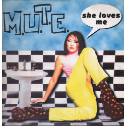 "M.U.T.E. ‎Vinile 12"" She Loves Me / Italian Style Production ‎ISP 1353 Nuovo"