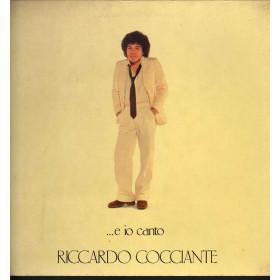 Riccardo Cocciante Lp Vinile E Io Canto / RCA PL 31421 Gatefold Nuovo