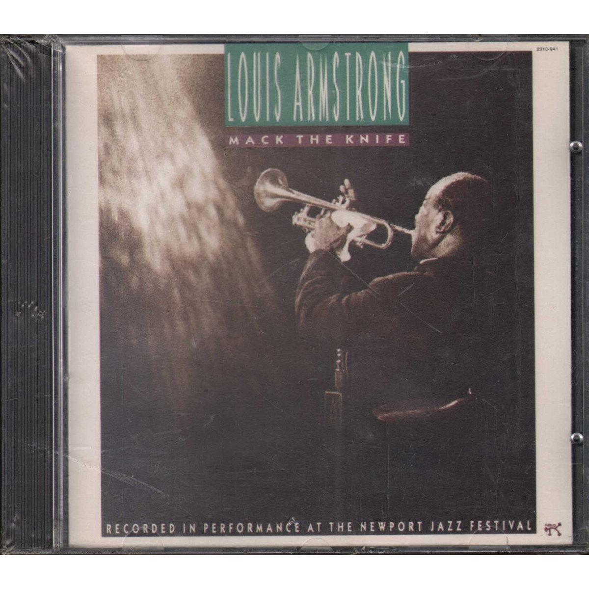 Louis Armstrong CD Mack The Knife / Pablo Records Sigillato 0025218094122