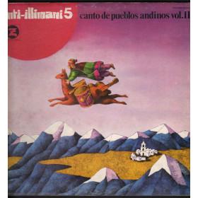 Inti-Illimani Lp Vinile Inti-Illimani 5 Canto De Pueblos Andinos Vol. II Nuovo