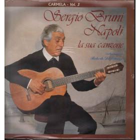 Sergio Bruni Lp Vinile Napoli La Sua Canzone Volume 3 Carmela Sigillato