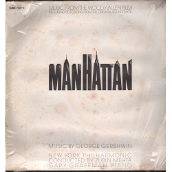 "George Gershwin Lp Vinile Music From The Woody Allen Film ""Manhattan"" Sigillato"