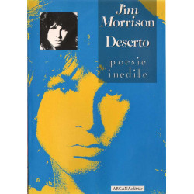 Jim Morrison LIBRO di Poesie Deserto Mai Sfogliato Nuovo 9788885859456