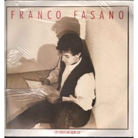 Franco Fasano Lp Vinile Un Cielo Che Non Sai / CBS 466877 1 Sigillato