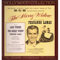 Fernando Lamas Lp Vinile The Merry Widow Holywood Collection Vol 21 / CBS Nuovo