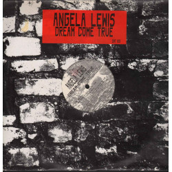 "Angela Lewis ‎Vinile 12"" Dream Come True / Zac ZNT 015 Nuovo 8018951003096"