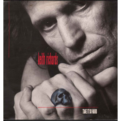 "Keith Richards ‎Vinile 12"" Take It So Hard / Virgin VINX 225 Nuovo"