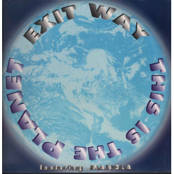 """Exit Way Vinile 12"""" This Is The Planet / No Colors NC 007 MX Nuovo"""