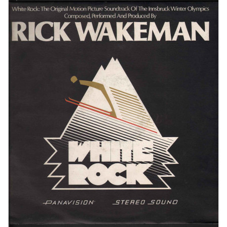 Rick Wakeman Lp Vinile White Rock / A&M Records SLAM 64614 Nuovo
