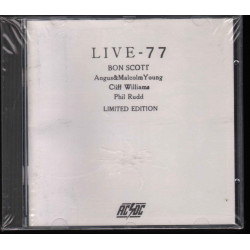 AC/DC CD Live 79 - Bootleg Limited Edition / Men At Work ‎WORK 5515.2 Sigillato