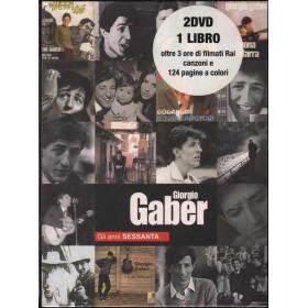 Giorgio Gaber 2 DVD + Libro Gli Anni Sessanta Sigillato 4029758778180