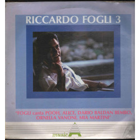 Riccardo Fogli Lp Vinile Riccardo Fogli 3 / Paradiso LSM 1008 Sigillato