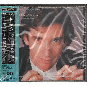 Michael Tilson Thomas CD Beethoven: Symphony No. 5 C Minor, Op. 67 Sigillato