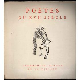 AA.VV. Lp Vinile Poetes Du XVIe Siecle - Anthologie Sonore De La Pleiade Nuovo