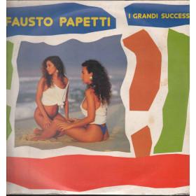 Fausto Papetti Lp Vinile I Grandi Successi / Globo Records Sigillato