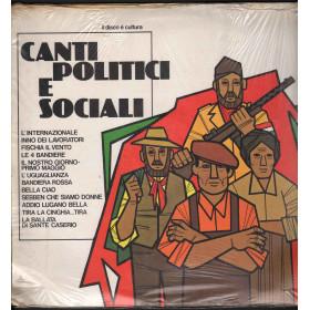 AA.VV. Lp Vinile Canti Politici E Sociali / UP LPUP 5114 Sigillato