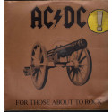 AC/DC Lp Vinile For Those About To Rock (We Salute You) Atlantic Nuovo