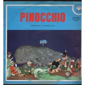 E Sironi / M P Arcangeli / I Colnaghi Lp Vinile Pinocchio / Rifi Variety Nuovo