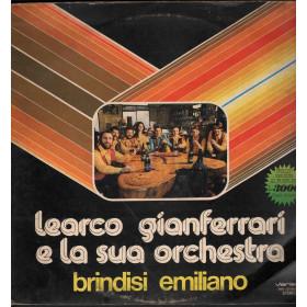 Learco Gianferrari Lp Vinile Brindisi Emiliano / Rifi Variety Nuovo
