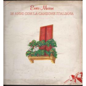 Enrico Musiani Lp Vinile 25 Anni Con la Canzone Italiana / Six Record Nuovo