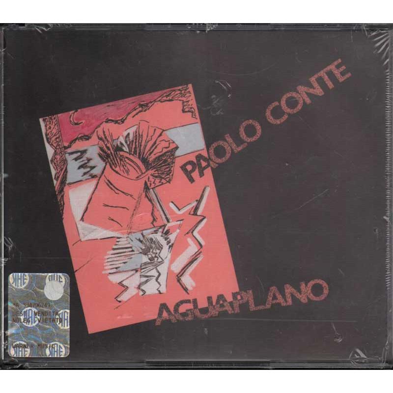 Paolo Conte DOPPIO CD Aguaplano Nuovo Sigillato 0022924496929