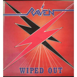 Raven ‎‎‎‎‎‎Lp Vinile Wiped Out / Neat Records Neat 1004 Nuovo
