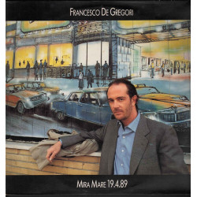 Francesco De Gregori Lp Vinile Mira Mare 19.4.89 / CBS 465172 1 Nuovo