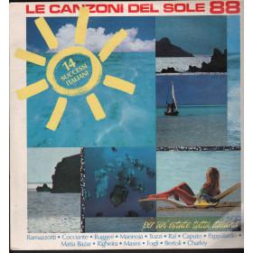AA.VV. Lp Vinile Le Canzoni Del Sole 88 / CGD COM 20838 Nuovo