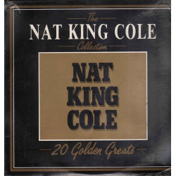Nat King Cole ‎‎Lp The Nat King Cole Collection 20 Golden Greats Sigillato
