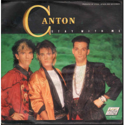 "Canton ‎‎Vinile 7"" 45 giri Stay With Me / Go Back Ariston Music ‎AR 00971 Nuovo"