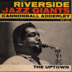 "Cannonball Adderley ‎‎‎Vinile 7"" 45 giri The Uptown / Riverside EP 3210 Nuovo"