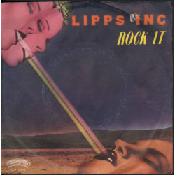 "Lipps, Inc. ‎‎Vinile 7"" 45 giri It's Rock It / Casablanca CA. 544 Nuovo"