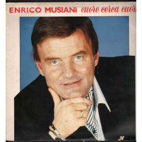 Enrico Musiani Lp Vinile Cuore Cerca Cuore / Duck Gold GDLP 036 Nuovo