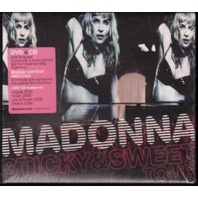 Madonna DVD CD Sticky & Sweet Tour / Warner Bros Sigillato 0093624972846