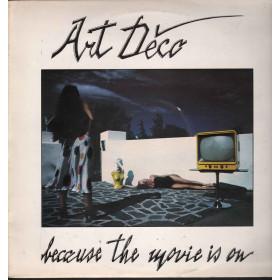 "Art Deco Vinile 12"" Because The Movie Is On / Art Retro Ideas ARI 1201 Nuovo"