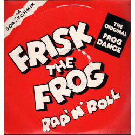 "Frisk The Frog Vinile 12"" Rap 'N' Roll / Jumbo JO 12006 Nuovo"