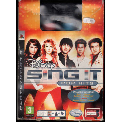Disney Sing It! Pop Hits + 2 Microfoni Playstation 3 PS3 Sigillato 8717418229672