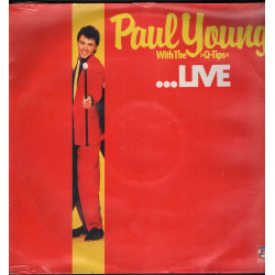 Paul Young With The Q-Tips Lp Paul Young With The Q-Tips Live / Gong Sigillato