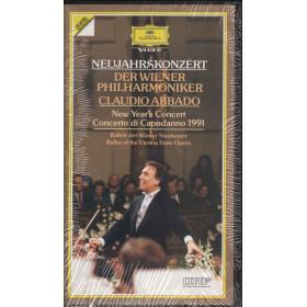 Claudio Abbado Wiener Philharmoniker VHS Neujahrskonzert In Wien 1991 Sigillato